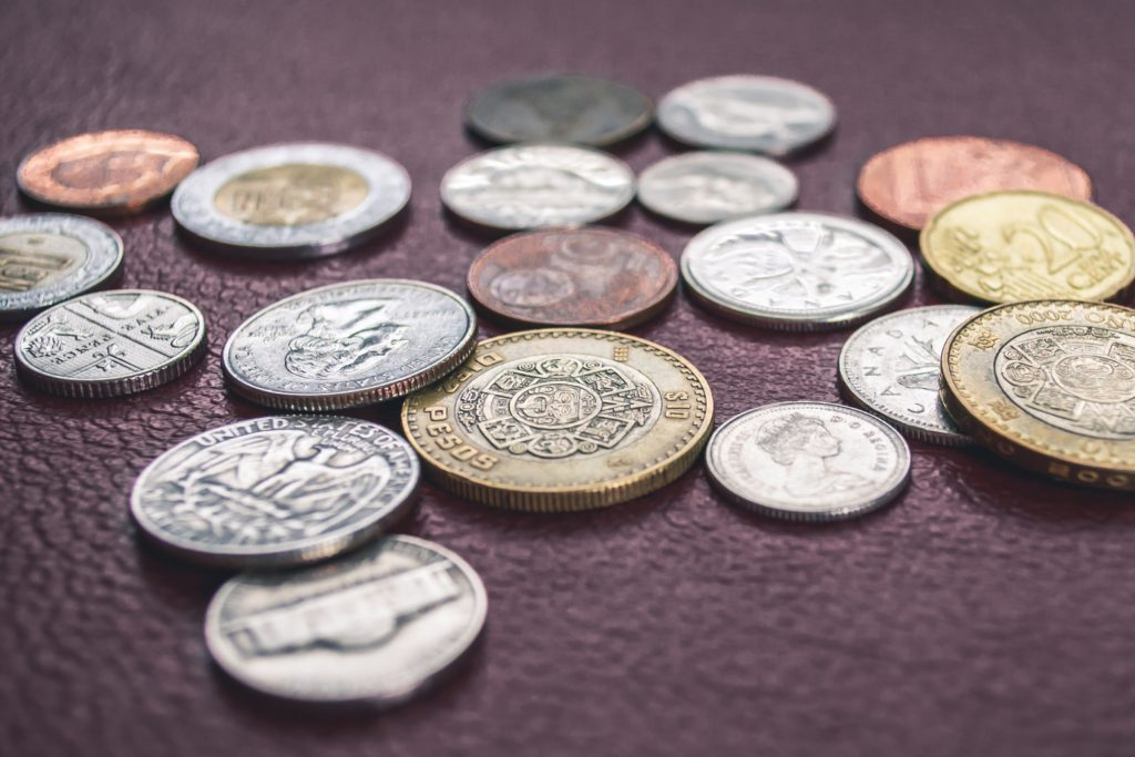The Vetducator - coins indicate that money is the least important variable in deciding on a job.