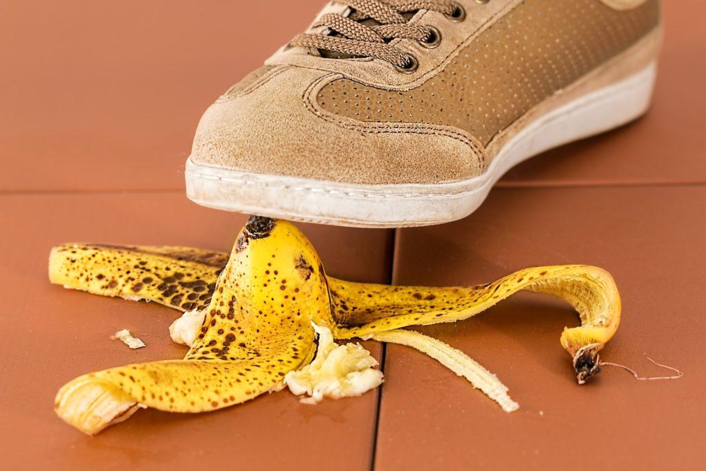 The Vetducator Avoiding Mistakes in your Vet Application Letter - Slipping banana peel
